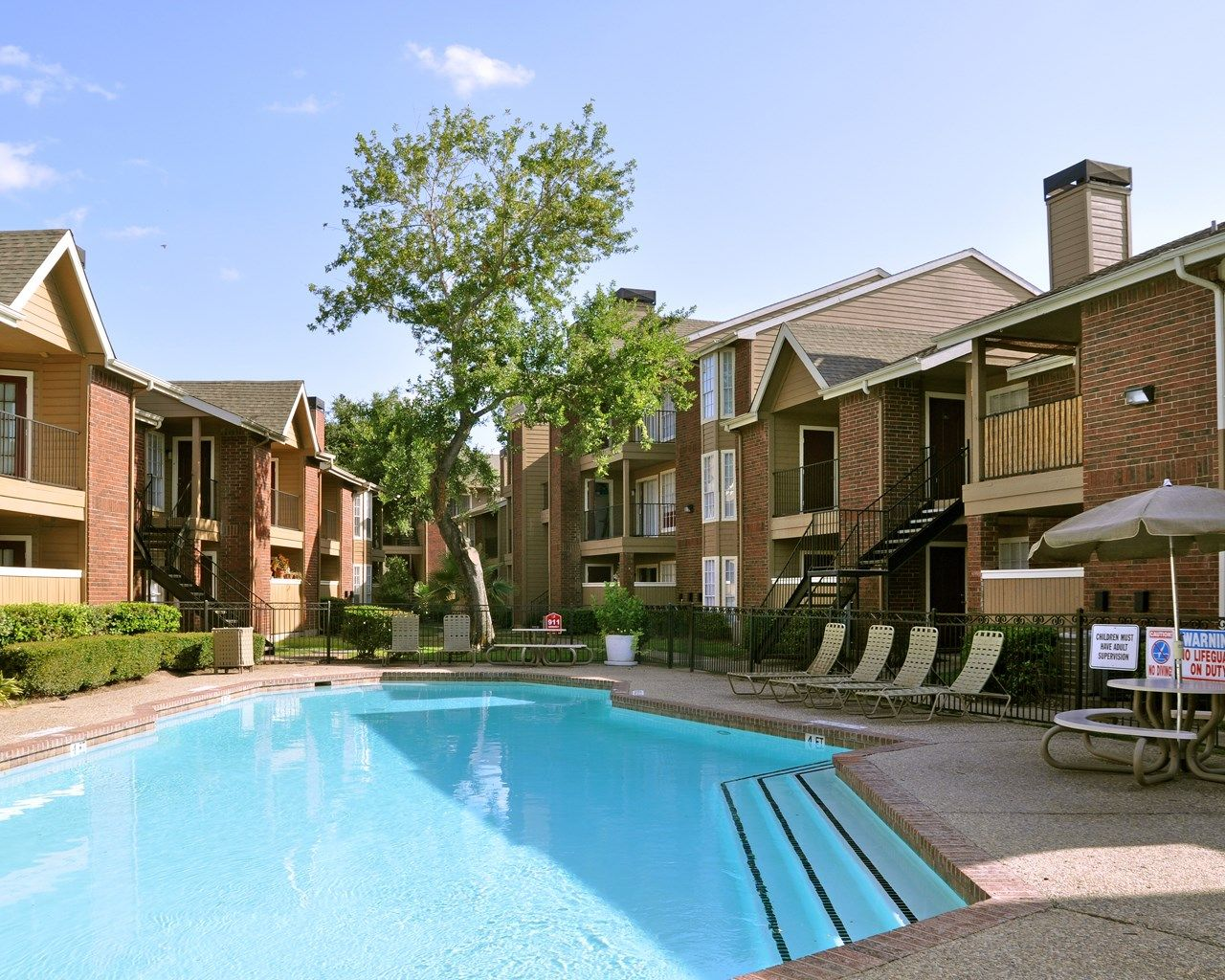 Love this place! 1 and 2 bedroom apartments in Houston, TX. http ...