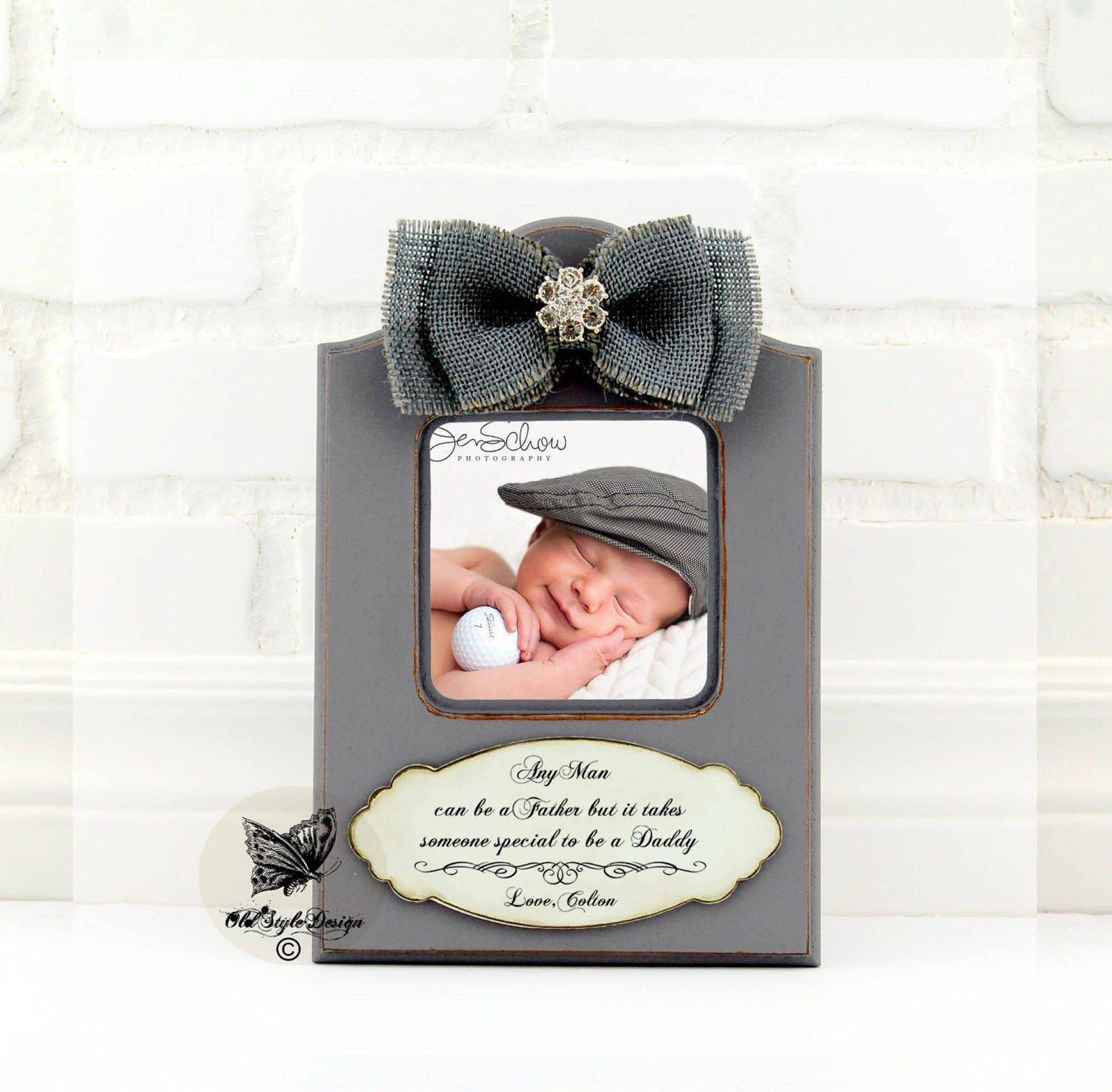 Fathers Day gift from Baby Fathers Day Frame First Fathers Day Gift ...