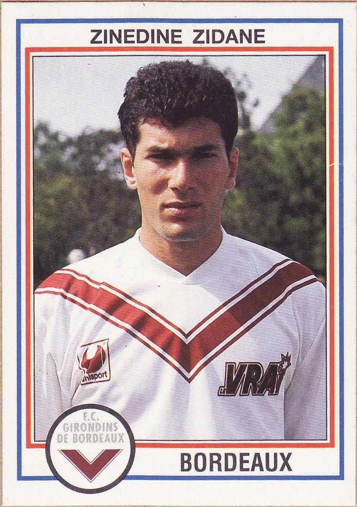 Zidane (Bordeaux) Cromos, Noticias de futbol y Zidane