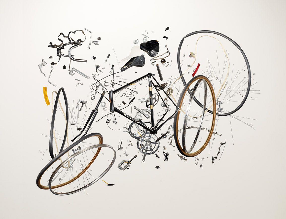 Things Come Apart Bike Bike Art Bicycle Art Bicycle