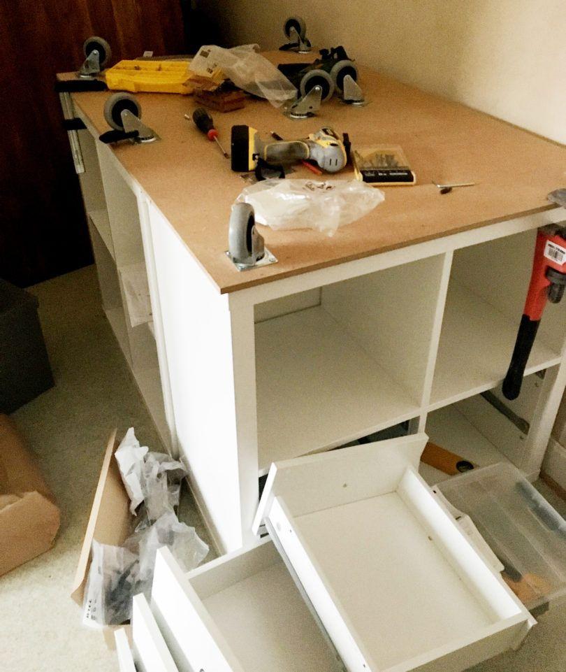 Shortening Ikea roller shutter kitchen