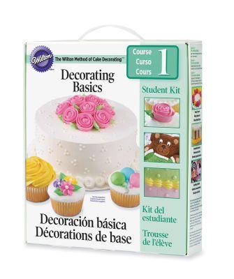 Wilton Method Of Cake Decorating Course 1 Decorating Basics Student Kit 20 00 Cake Decorating Courses Cake Decorating Kits Cake Decorating Supplies