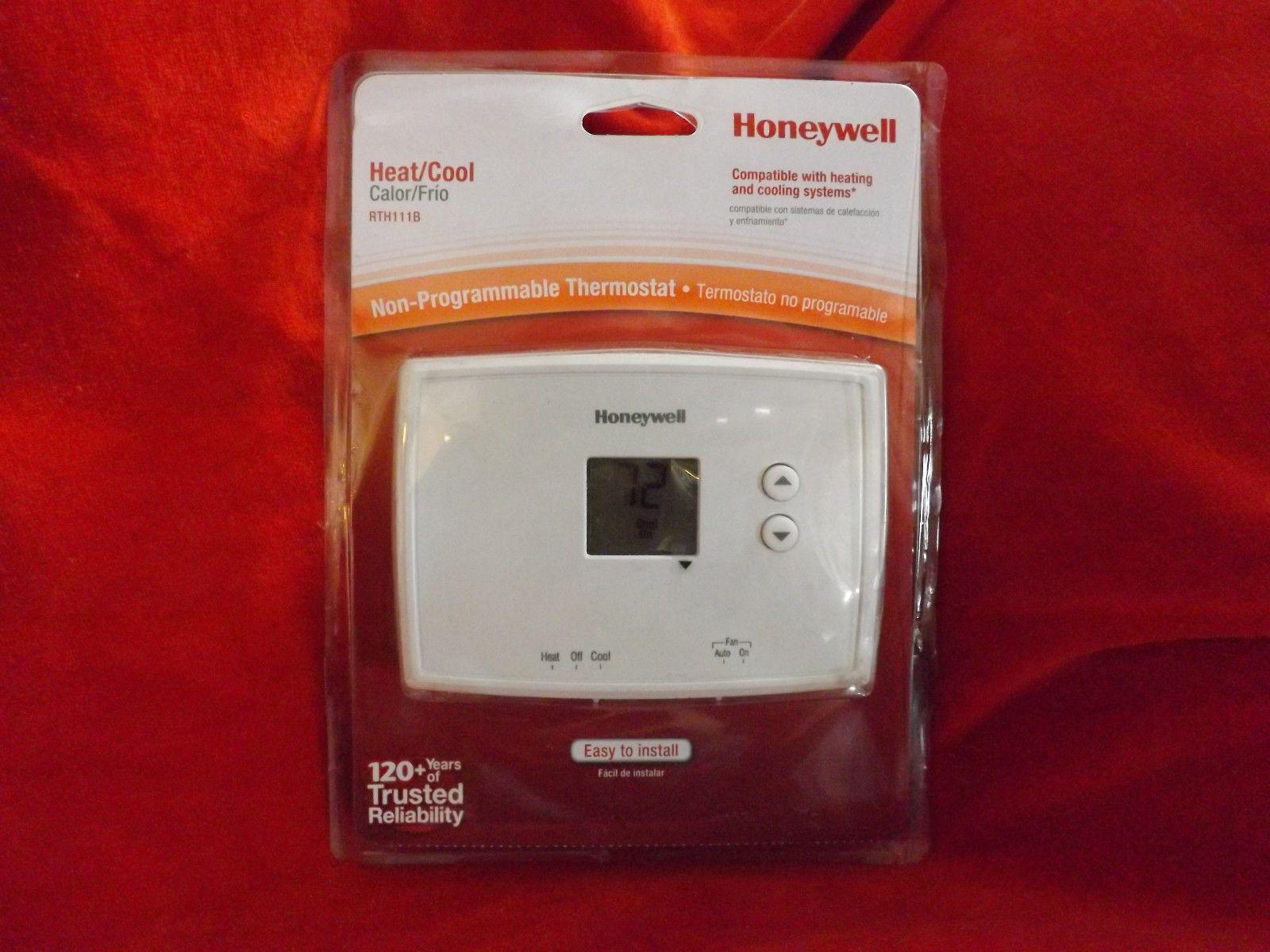 1 honeywell rth 111 b digital nonprogrammable thermostat