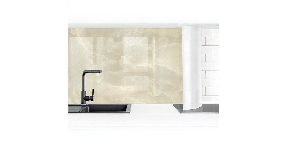 Küchenrückwand »Onyx Marmor Creme«