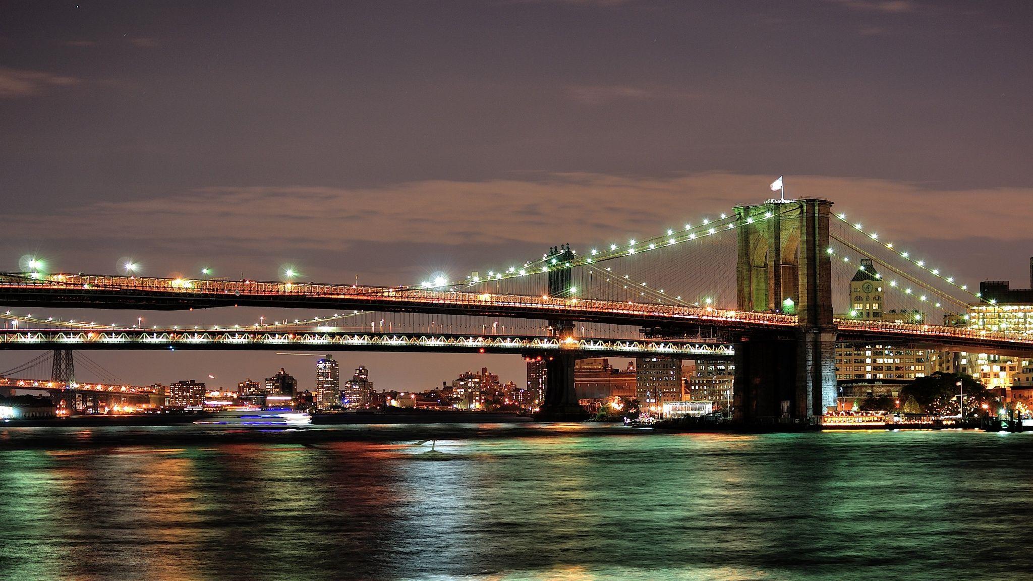 Brooklyn and Manhattan bridges by iveeltbayart on 500px