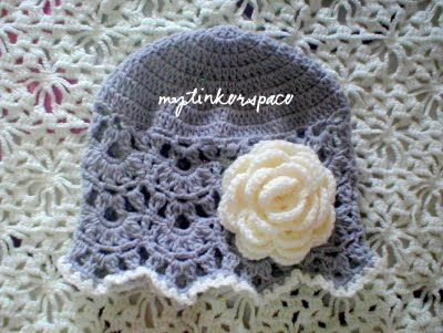 My Tinker Space Another New Hat Pattern It Will Fit A 1 To 2 Year