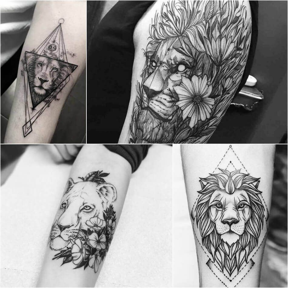 Lion Tattoo Ideas For Men And Women