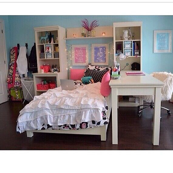 A really cute room also really realistic home for Cute teenager rooms