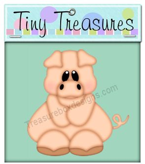 Tiny Treasures (Pig)