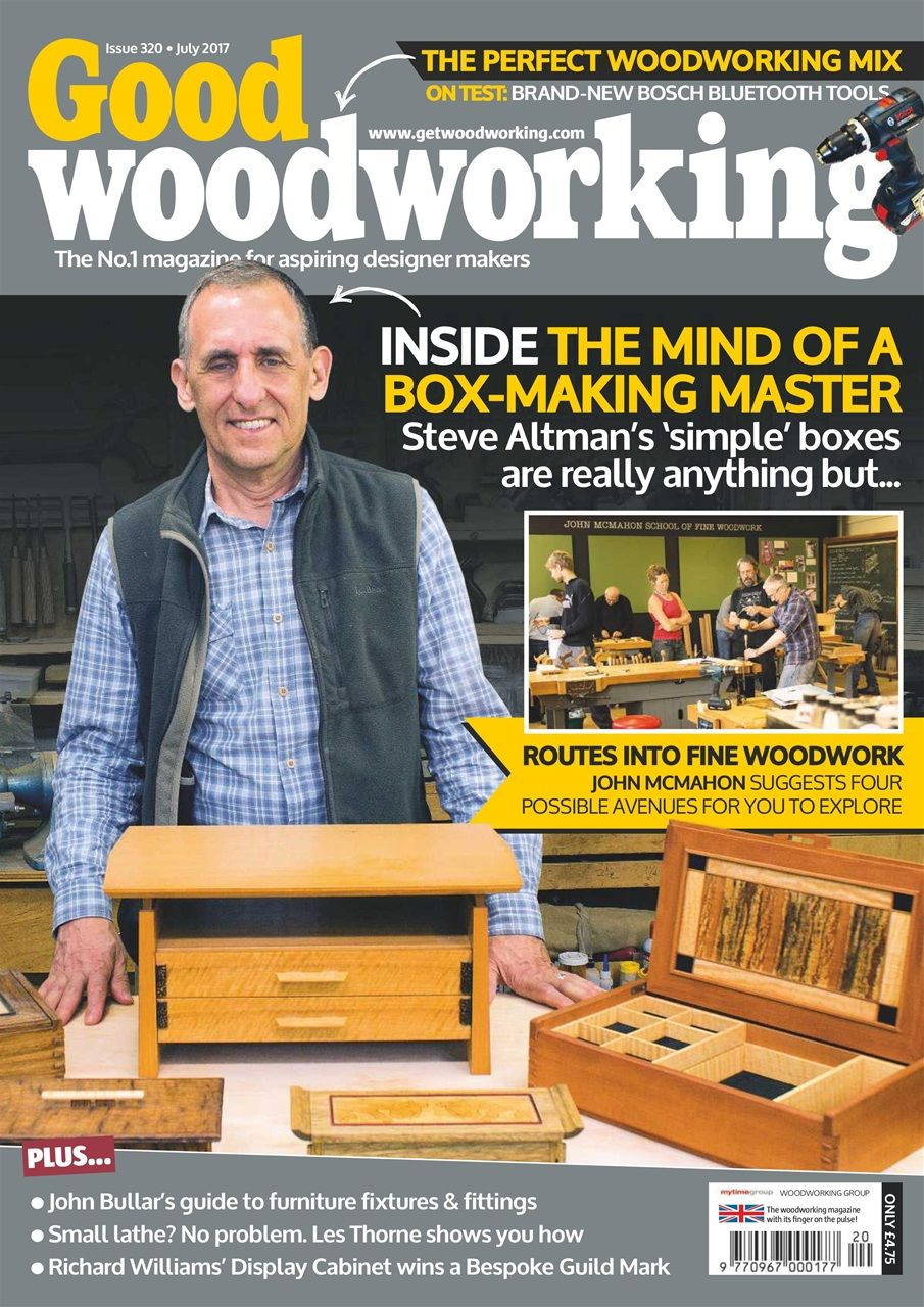 Good Woodworking Magazine July 2017 Subscriptions Pocketmags