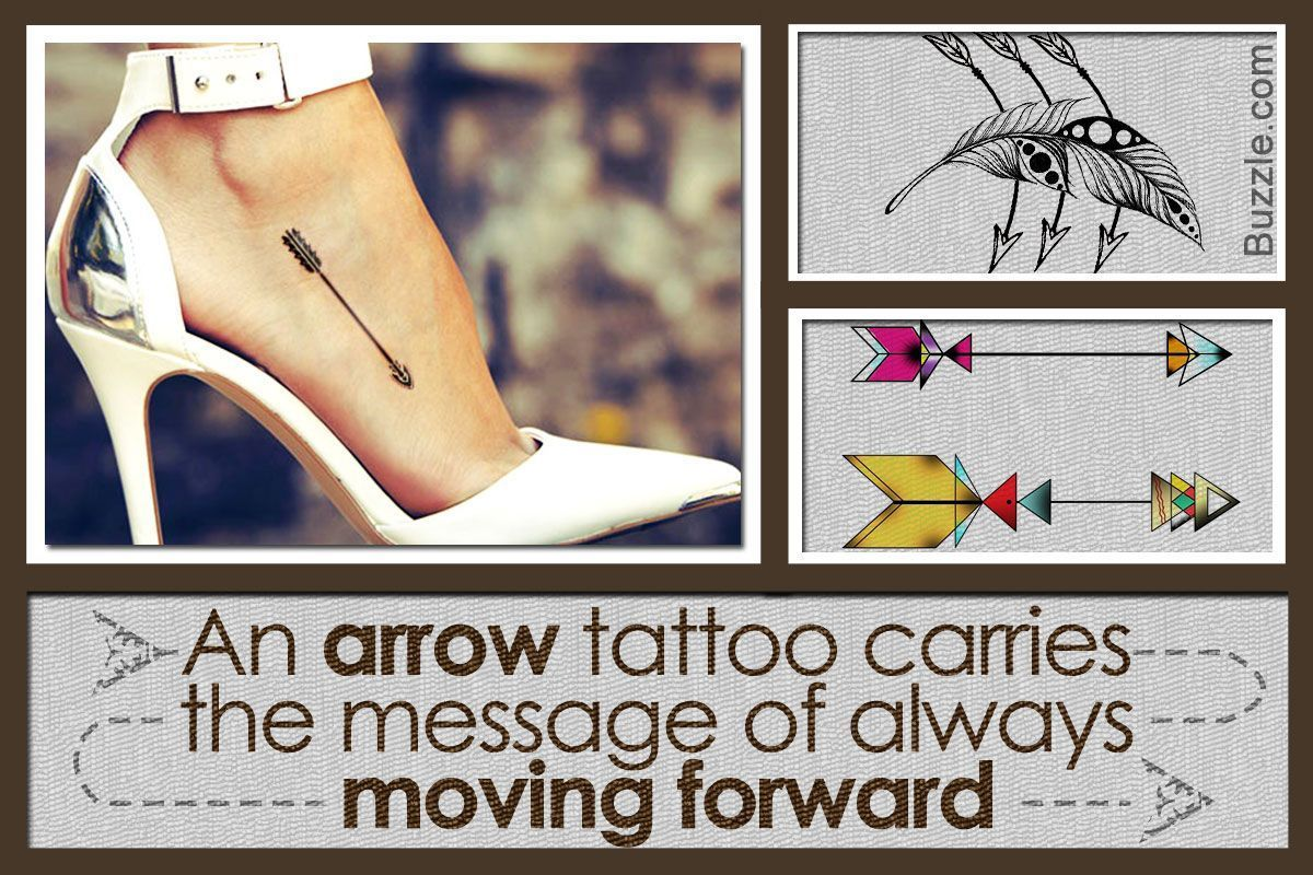 Image result for downside of moving forward arrow tattoo