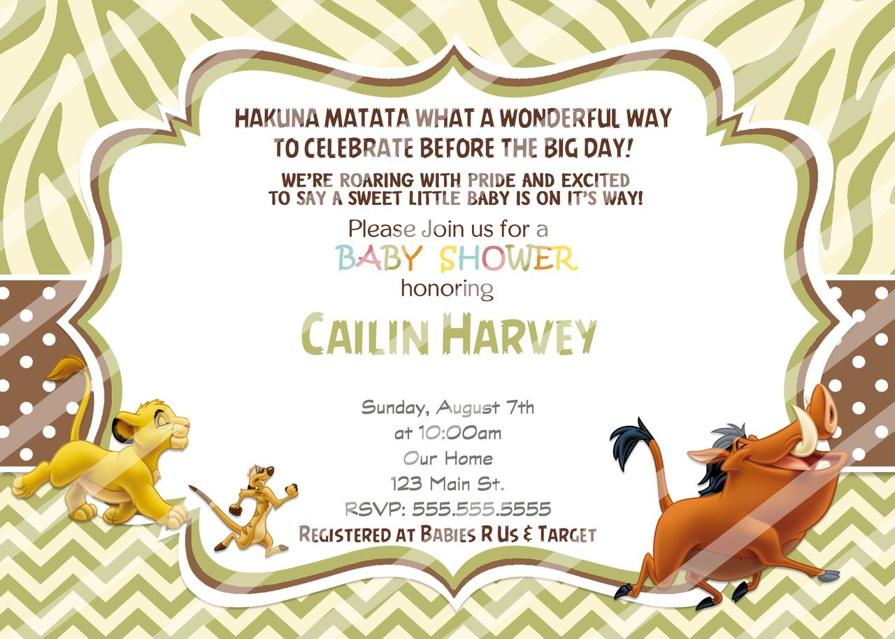 Baby simba shower invitations lion king diy baby simba shower baby simba shower invitations lion king diy partyexpressinvitations filmwisefo Gallery