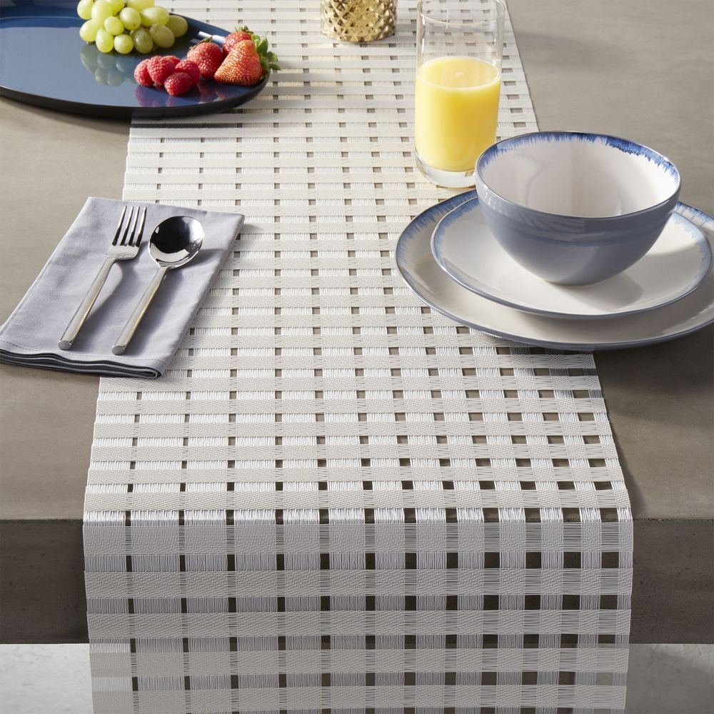 Cool Chilewich Satin Glass Table Runner Products Table Home Remodeling Inspirations Cosmcuboardxyz
