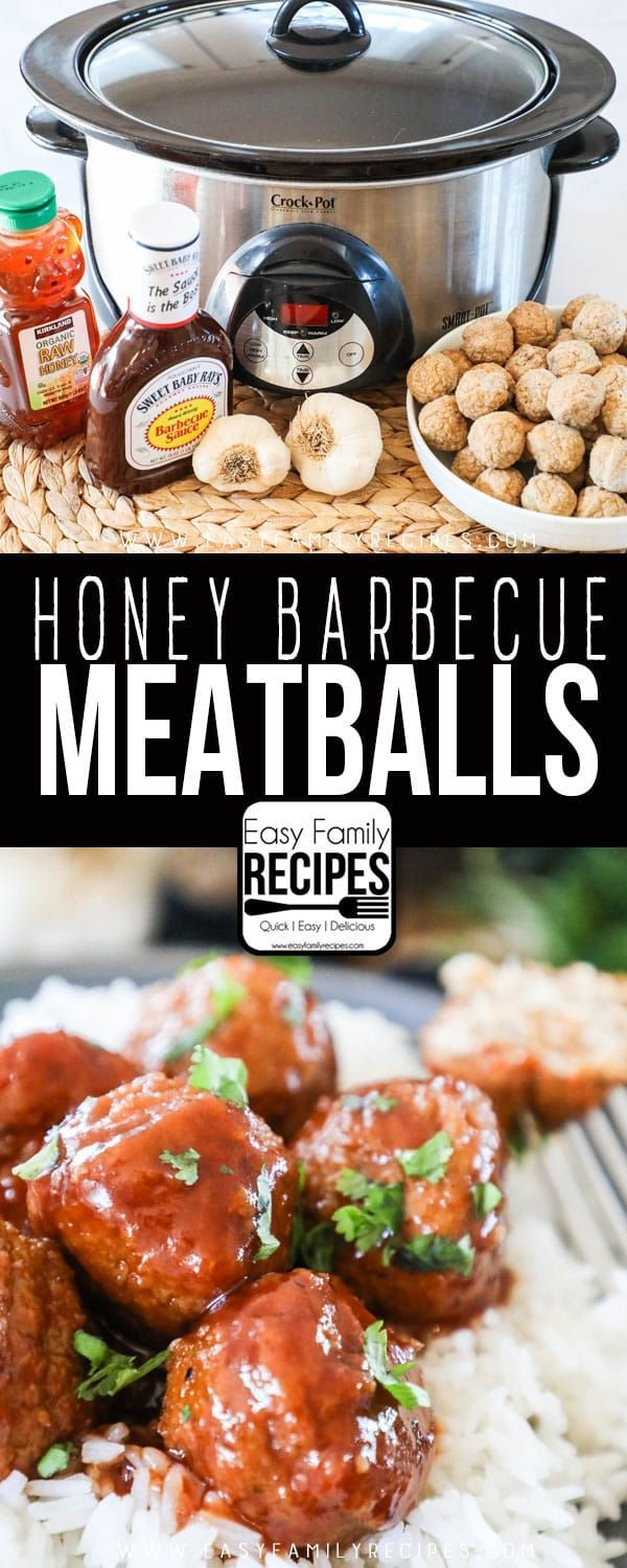 Kids Absolute Favorite These Honey Bbq Meatballs Are A