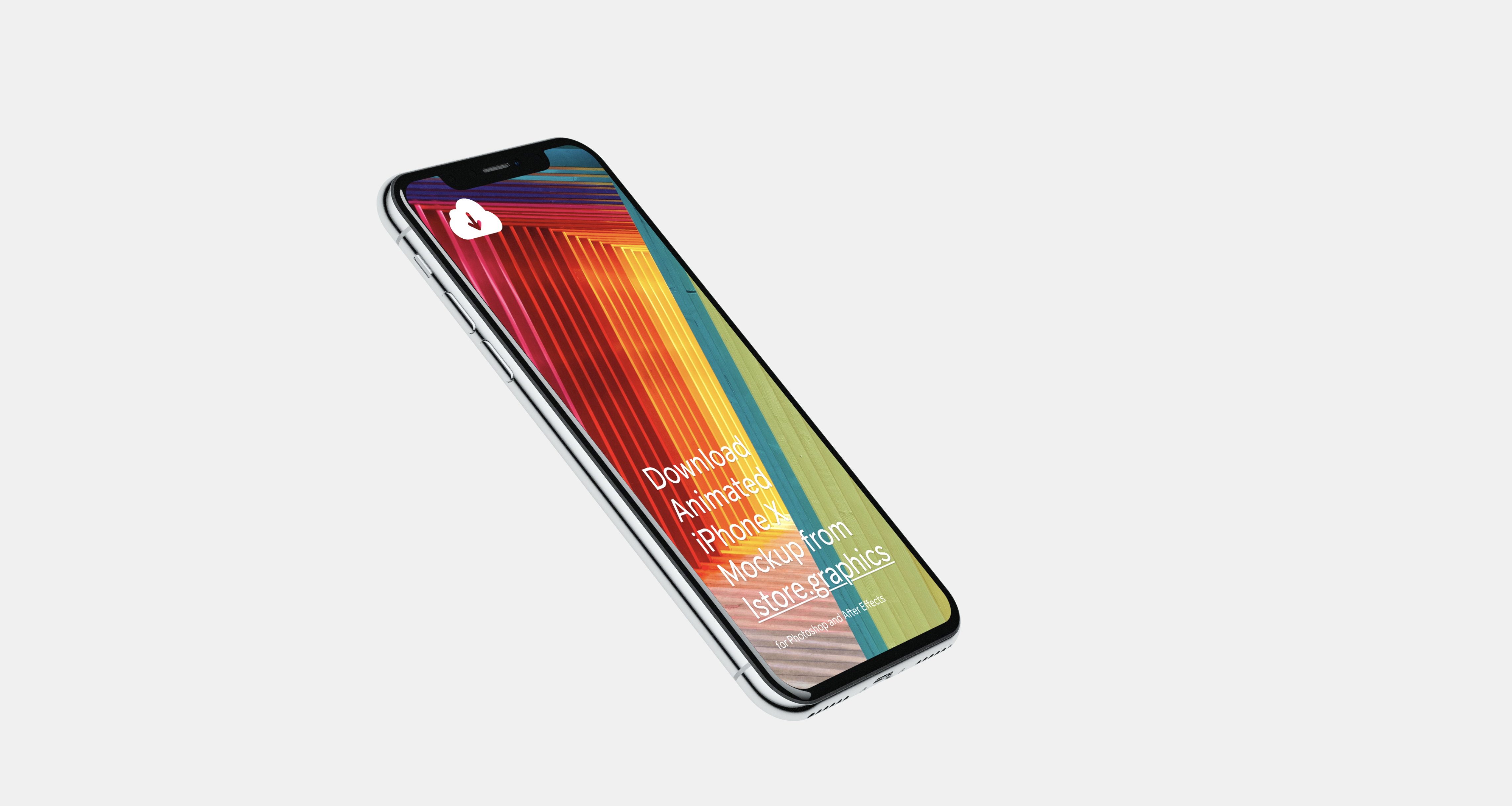 8 iPhone X mockups for Sketch and Adobe shop Awesome and free