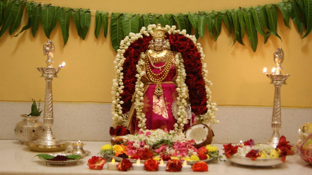 Varalakshmi Pooja Decoration Ideas 72 Pooja Decorations