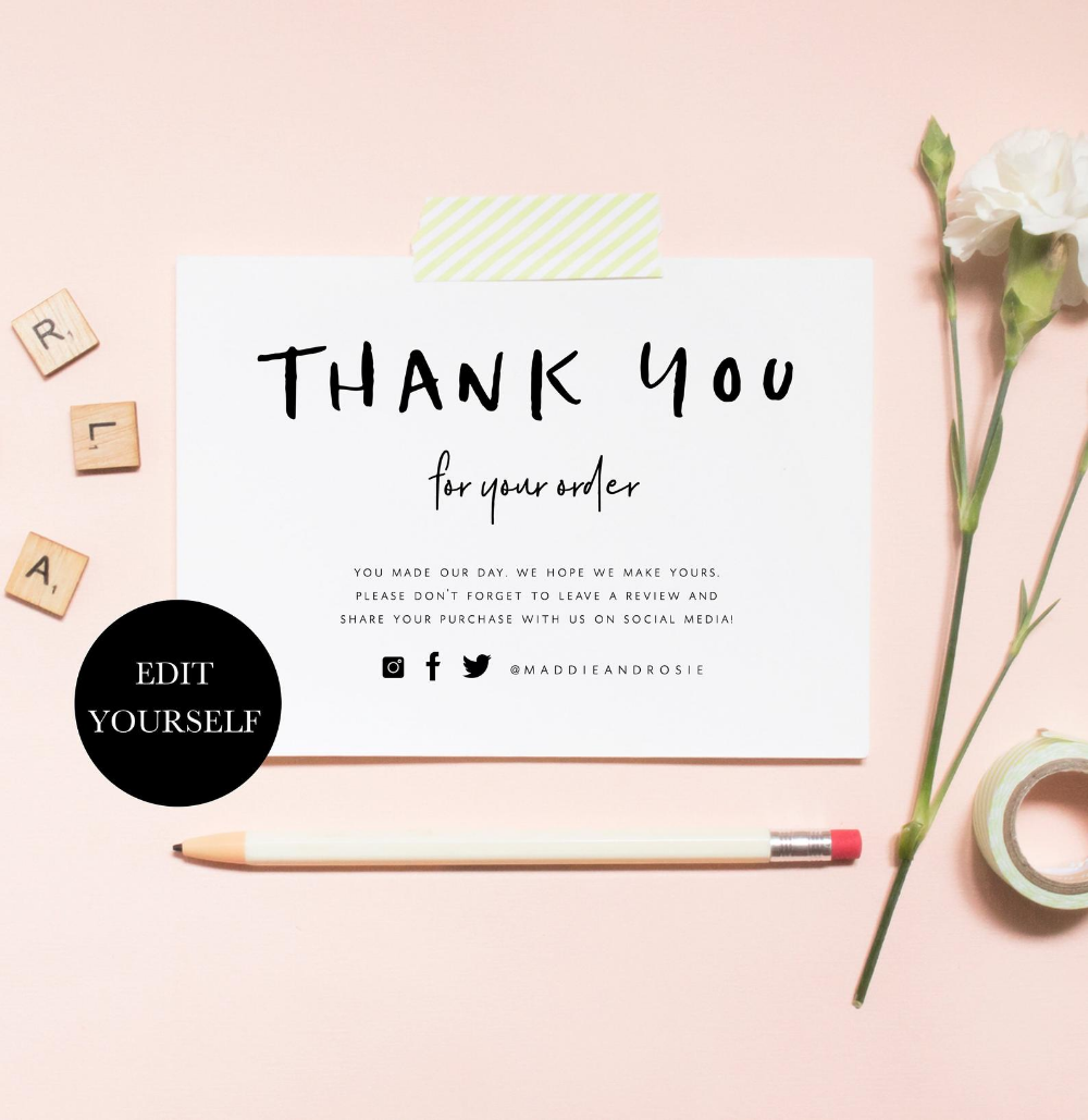 Custom designs welcome thanks Thank you postcards for your etsy shop etsy shop 4x3 cards Cute cards for your shop postcard style