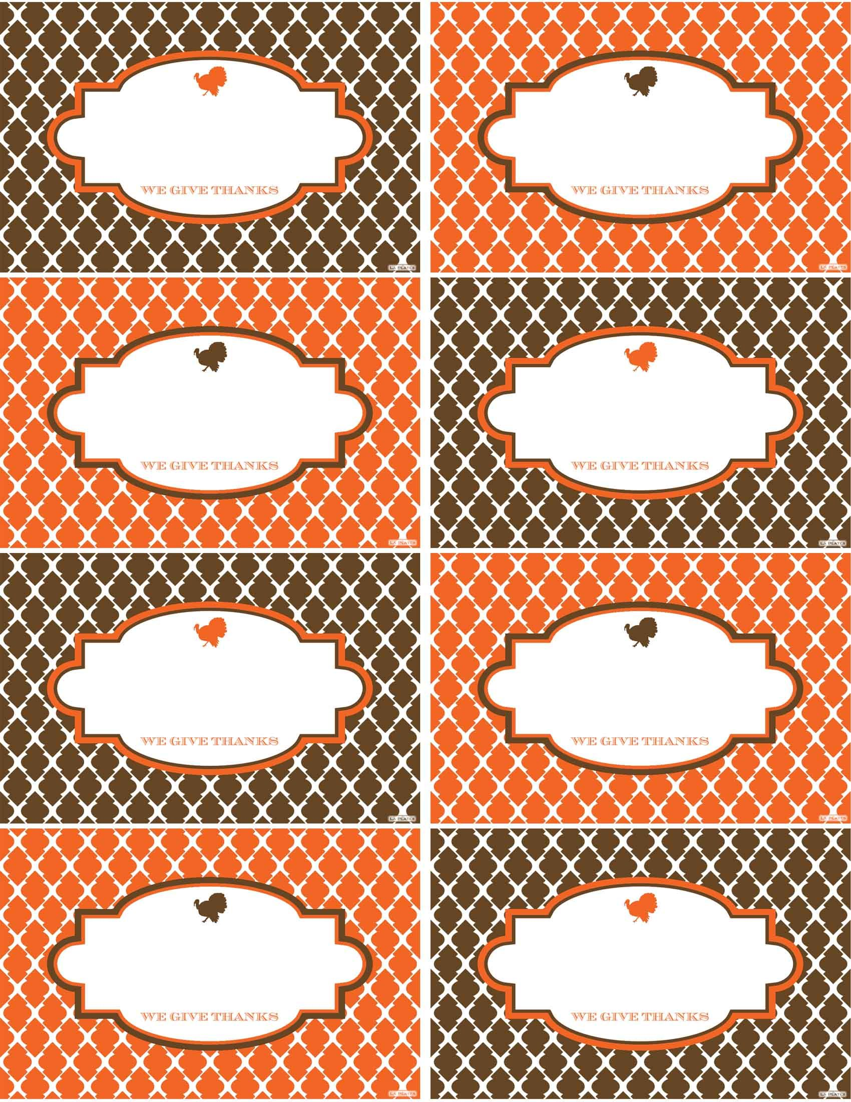 Pin By Lisa Anderson On Gobble Gobble Fun Thanksgiving Place Cards Place Card Template Cards