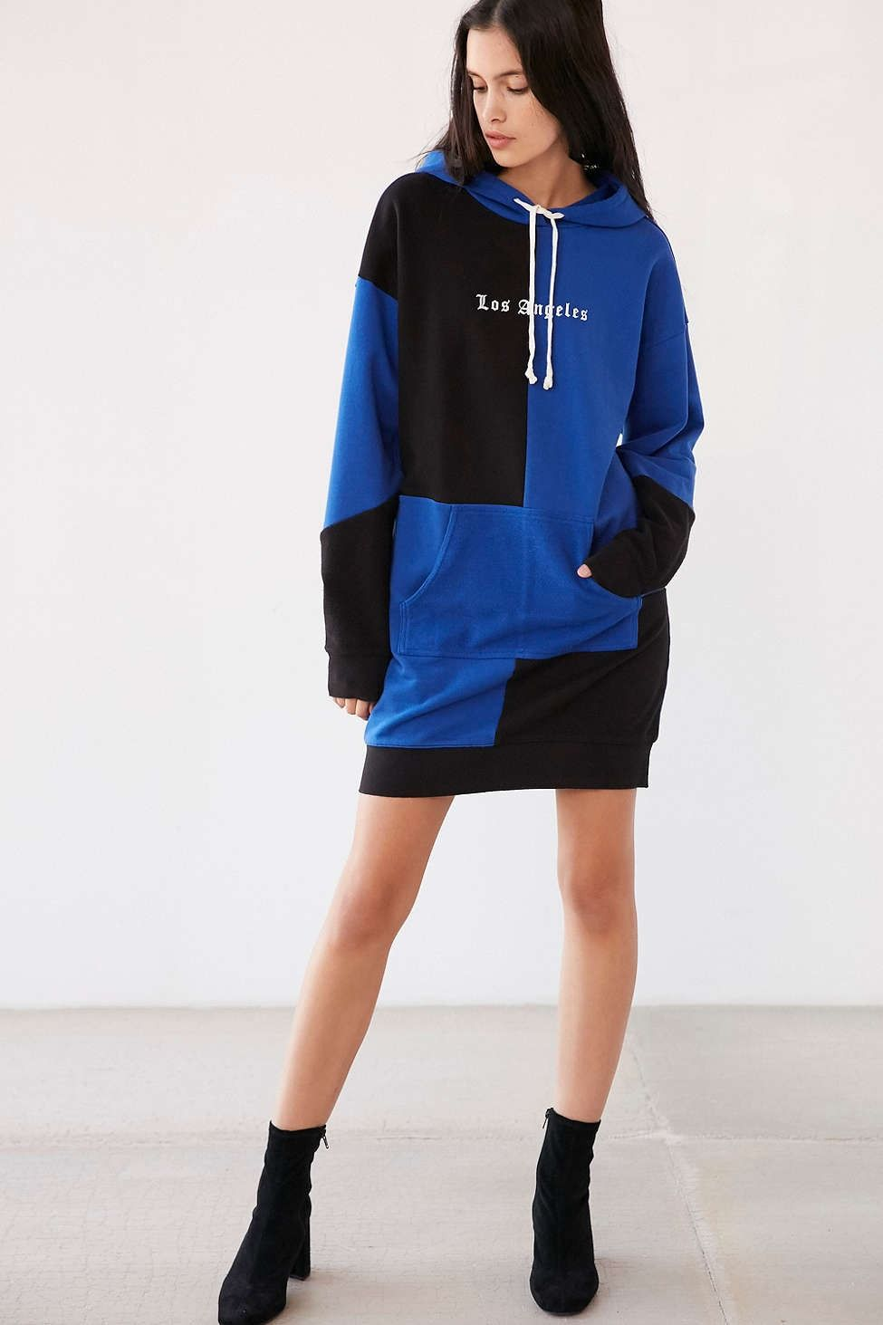 752dbae943 Juicy Couture For UO Oversized Hoodie Sweatshirt Dress - Urban Outfitters