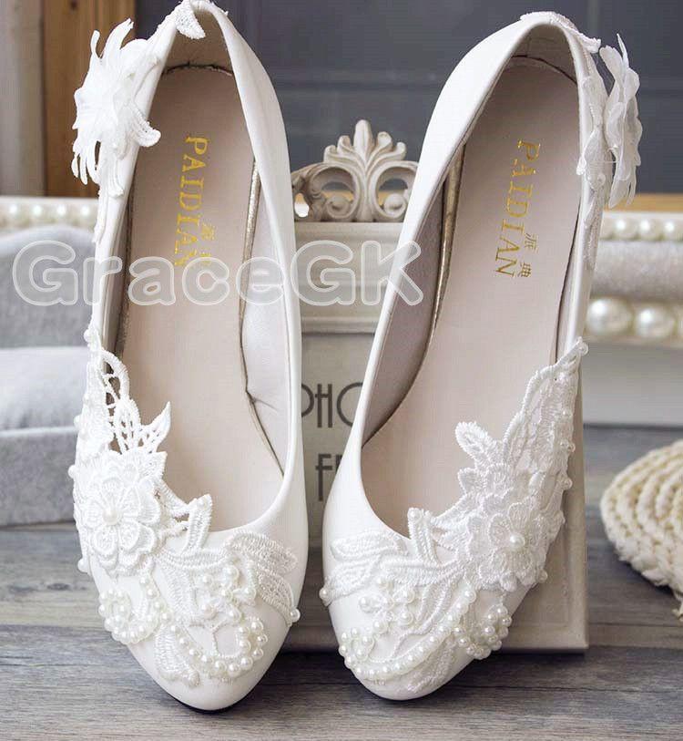 WEDDING OCCASIONS BEIGE ROSE FLOWER ELEGANT COURT SHOES UK SIZES 4//5// NEW