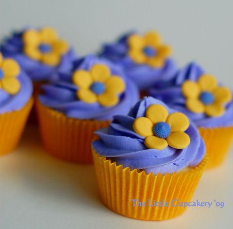 Indian Weddings Inspirations. Purple cupcakes. Repinned by #indianweddingsmag #weddingcupcakes #cupcake #bakery #purple indianweddingsmag.com