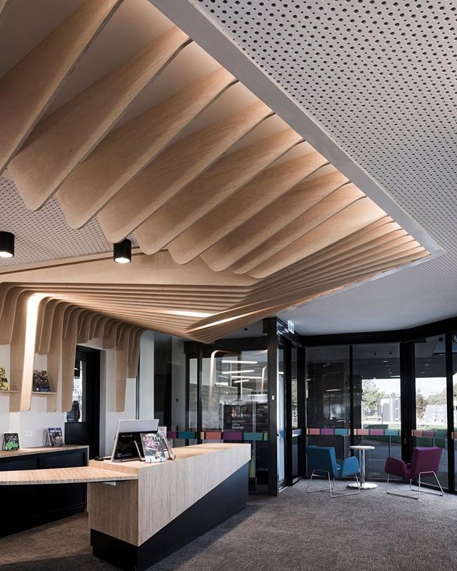 Educationsnapshots on instagram  creception at the cobram library  learning centre design by cohenleigh architects cohenleigharchitects photo also best images in architecture interior rh pinterest