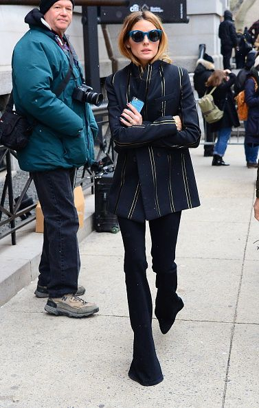 Olivia Palermo at 2016 New York Fashion Week - Tommy Hilfiger Show