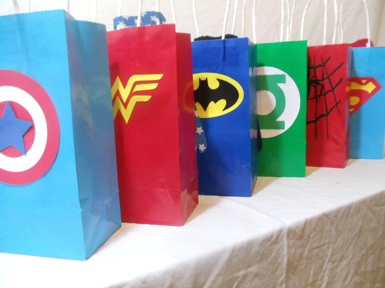 35 Custom Superhero Goodie Bags Listing For Jo