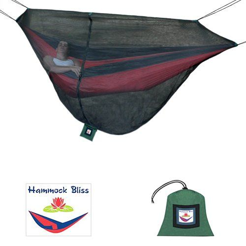 Hammock Bliss No See Um Mosquito Net Cocoon The Ultimate Bug Free Sleeping Solution For Your Hammock Camping Insect Repellent Bug Free Cocoon