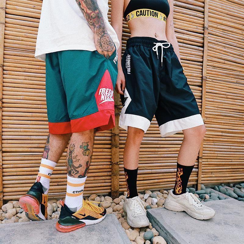 Fresh Niss Casual Basketball Shorts Mens Street Style Street Style Outfits Men Mens Shorts Outfits