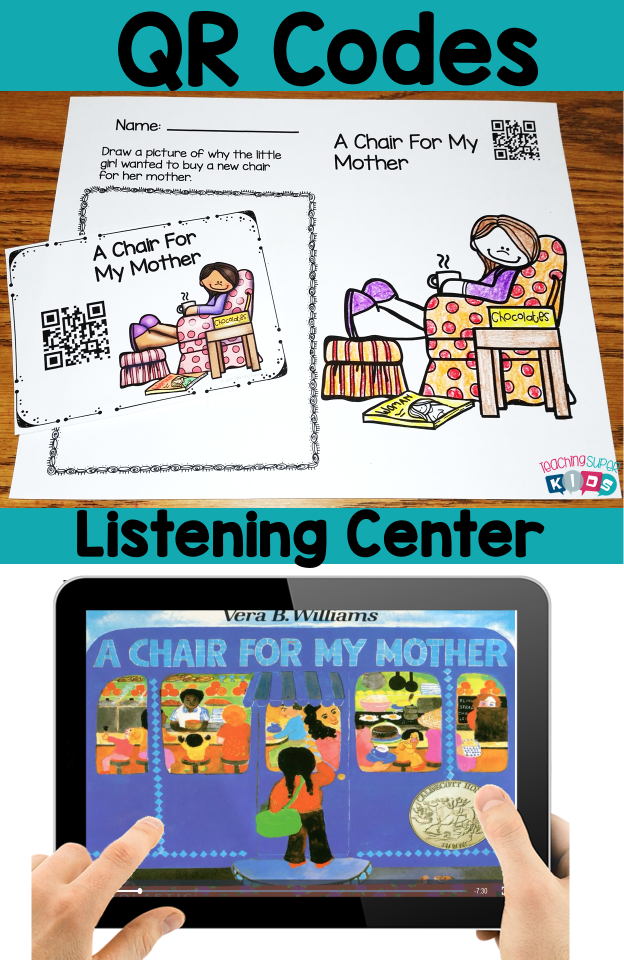 Mother S Day Qr Codes For Your Listening Center This Set