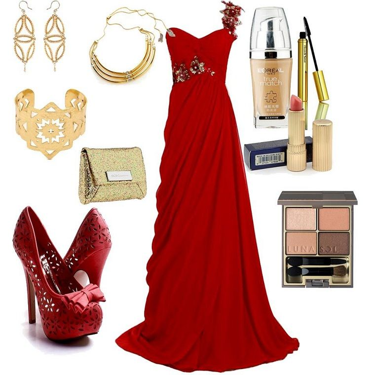 Long Dressaccessorizecombination Of Clothesfashion Http//www.womans-heaven.com/long-red ...