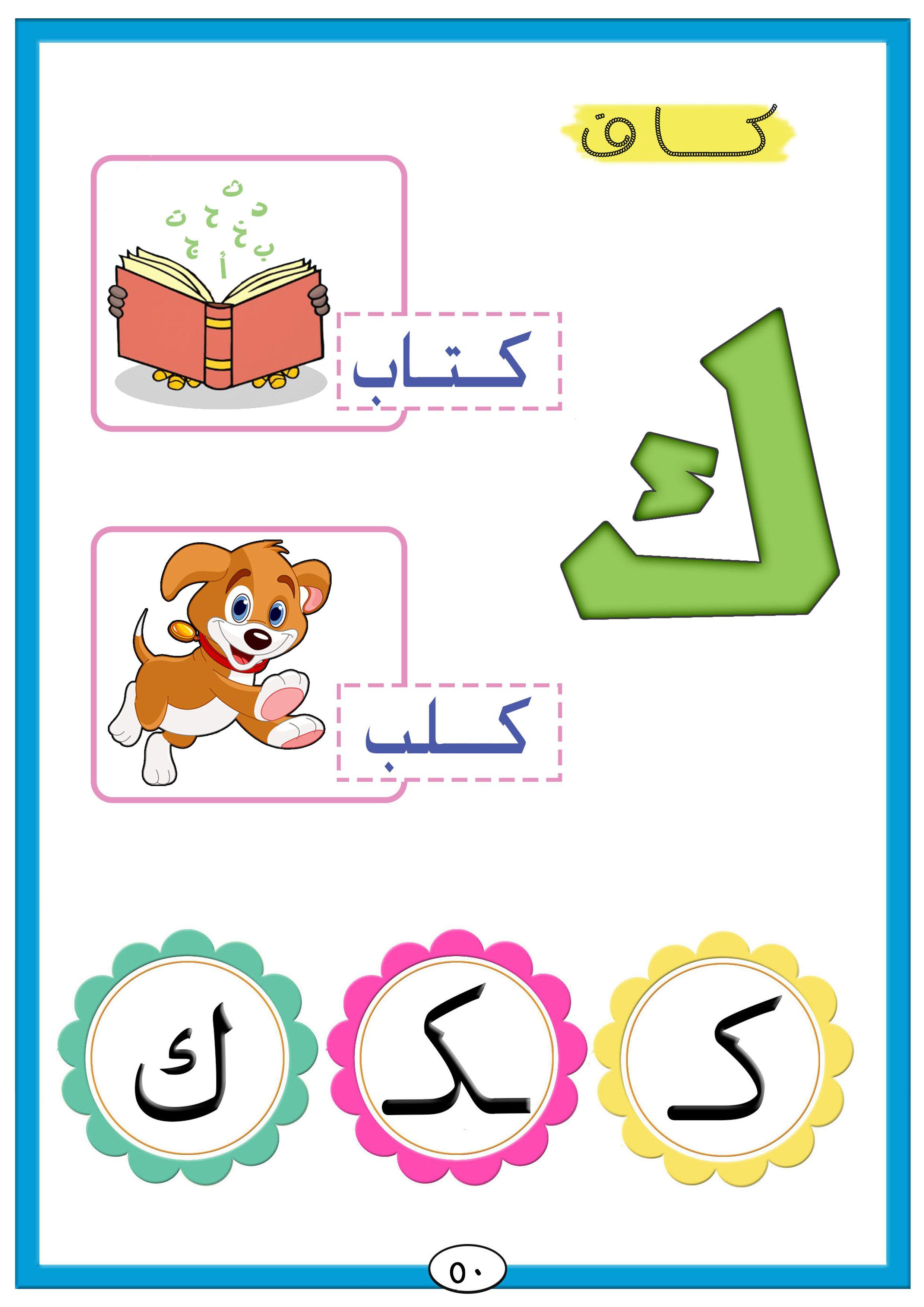 الحروف Arabic Kids Arabic Alphabet Learning Arabic