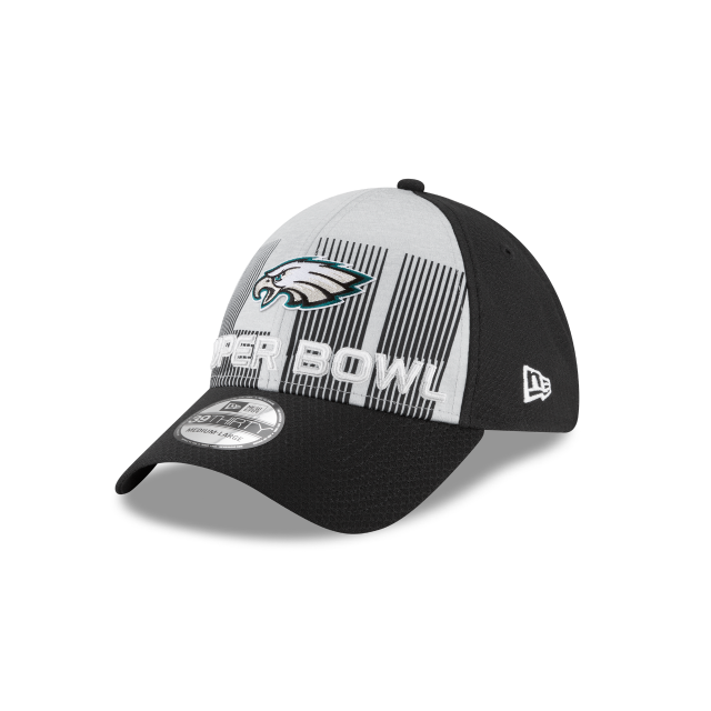 detailed pictures 06d0f 134ff PHILADELPHIA EAGLES SUPER BOWL LII 39THIRTY STRETCH FIT