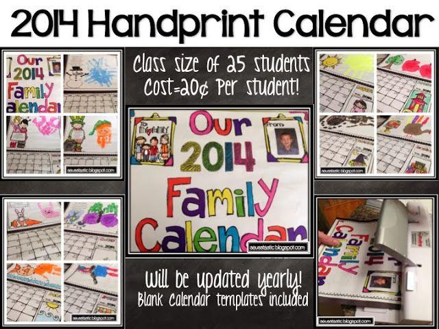 wwwteacherspayteachers/Product/Handprint-Calendar-Gift