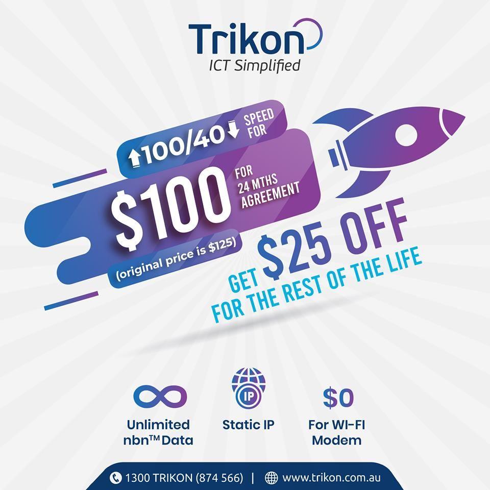 Trikon Business Phone System Offer Best Elite Plan Cloud