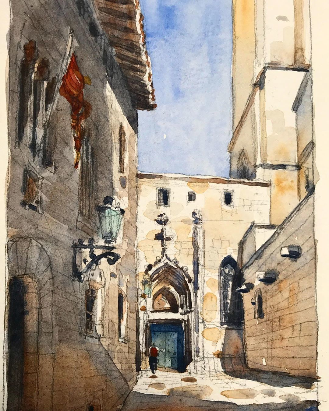 Aquarelles Inspiration On Instagram Un Voyage A Barcelone Le