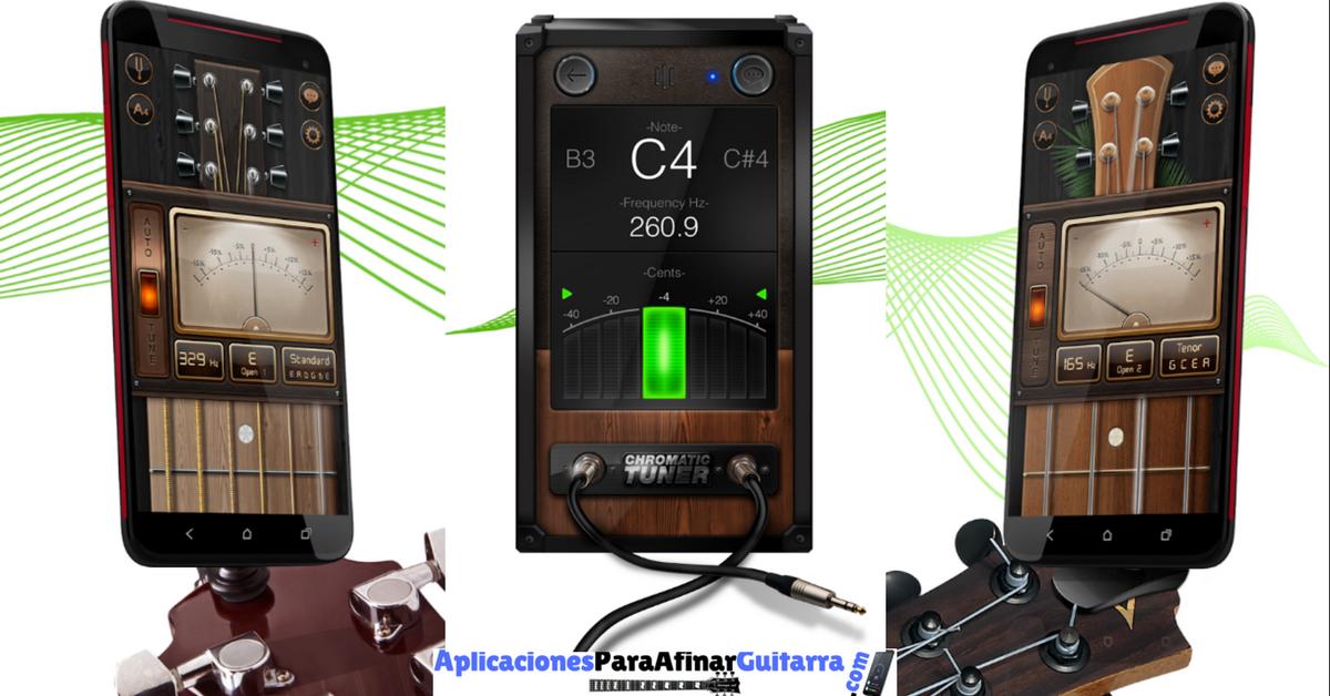Descargar Afinador Cromático De Guitarra Para Android E Ios Guitarras Cromatico Ukelele