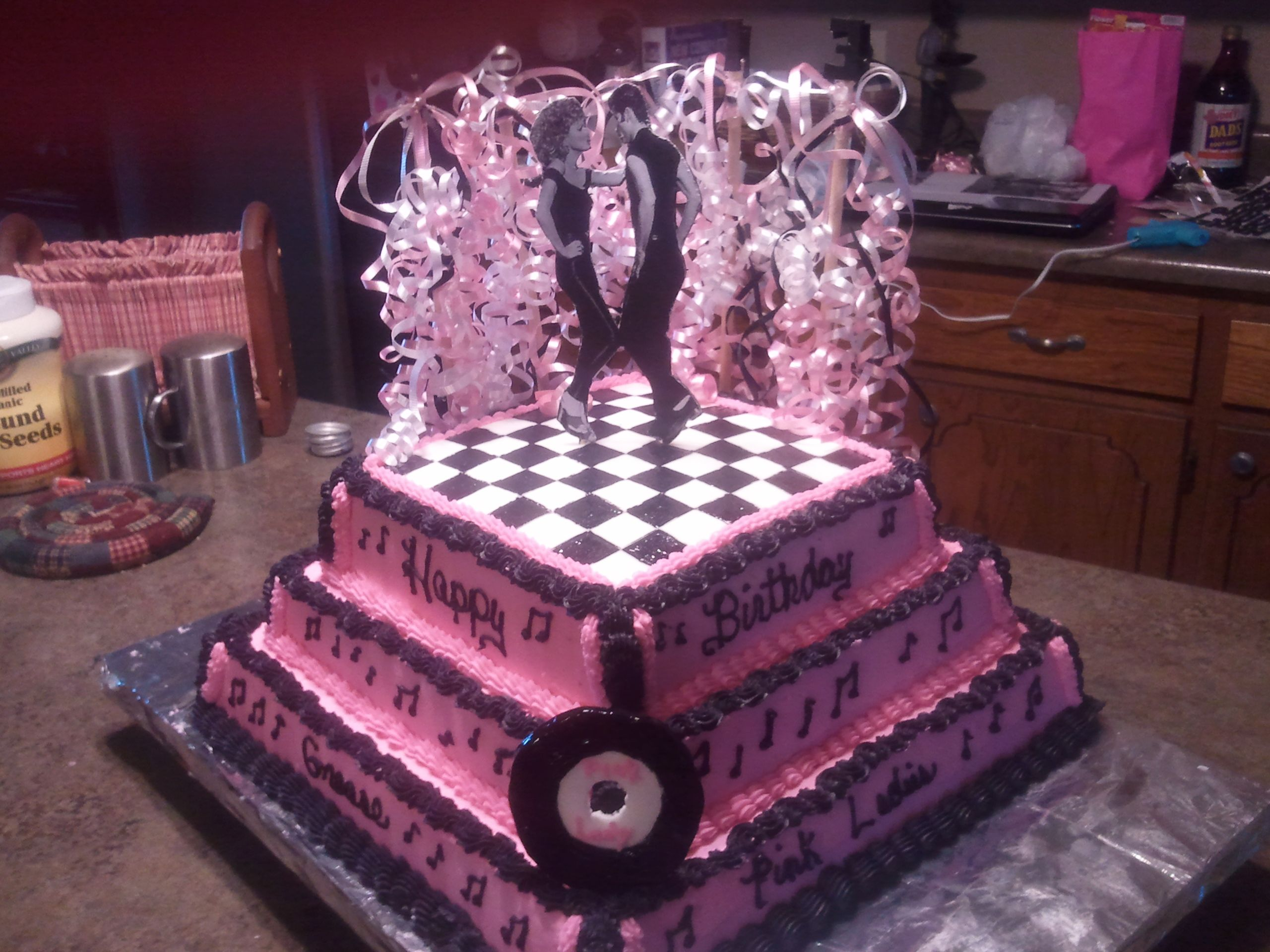 Birthday Cake Image For Josie : Josie s Grease Cake. Cakes I have made Pinterest ...
