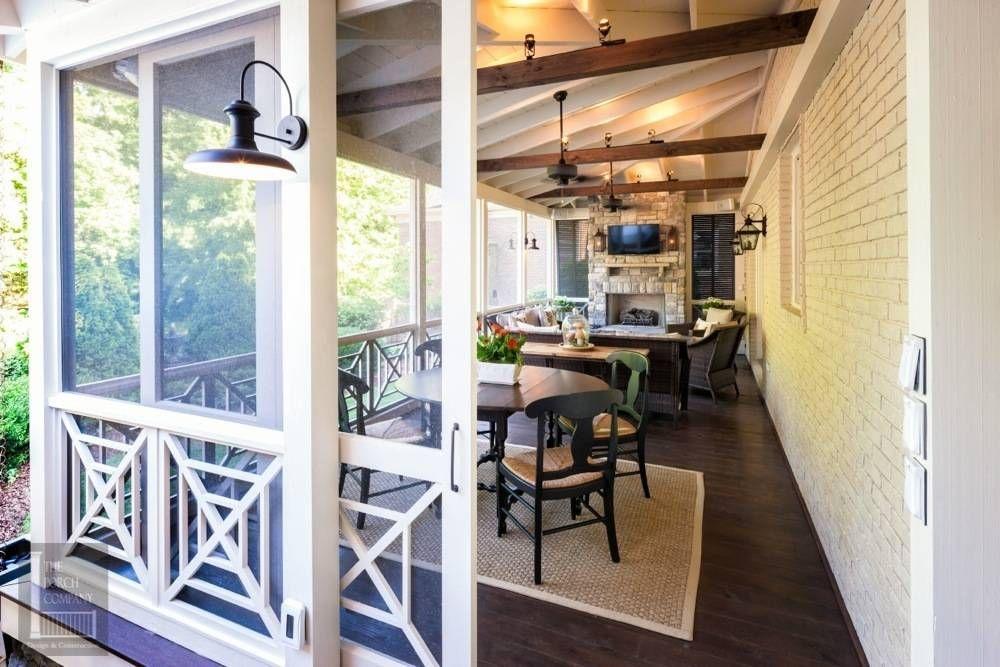 Sliding Screen Door Back Porch Designs Porch Design Home