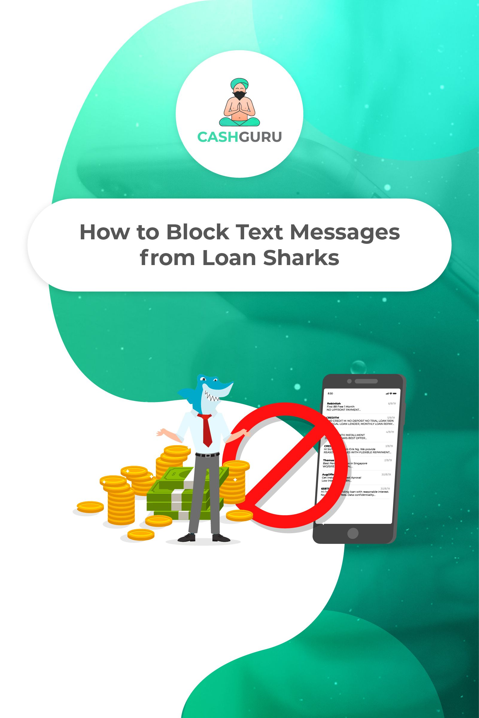 How To Block Text Messages From Loan Sharks Block Text Messages Text Messages Messages