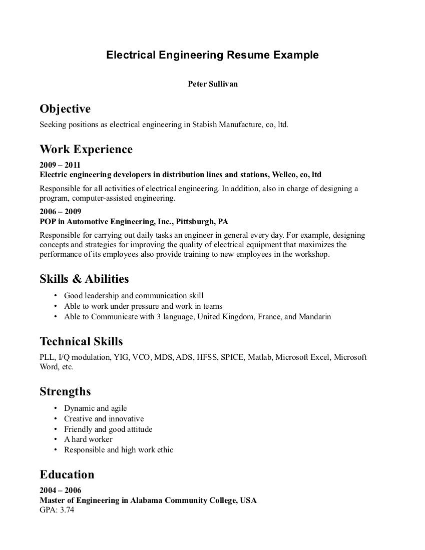 Cover Letter For Internship Chemical Engineering Example Job