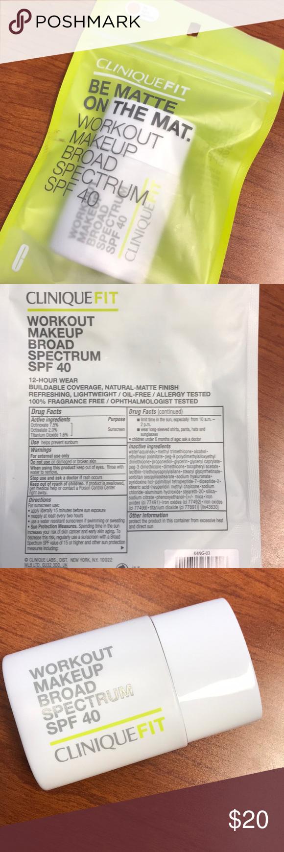 CliniqueFIT liquid foundation • practically new! Liquid