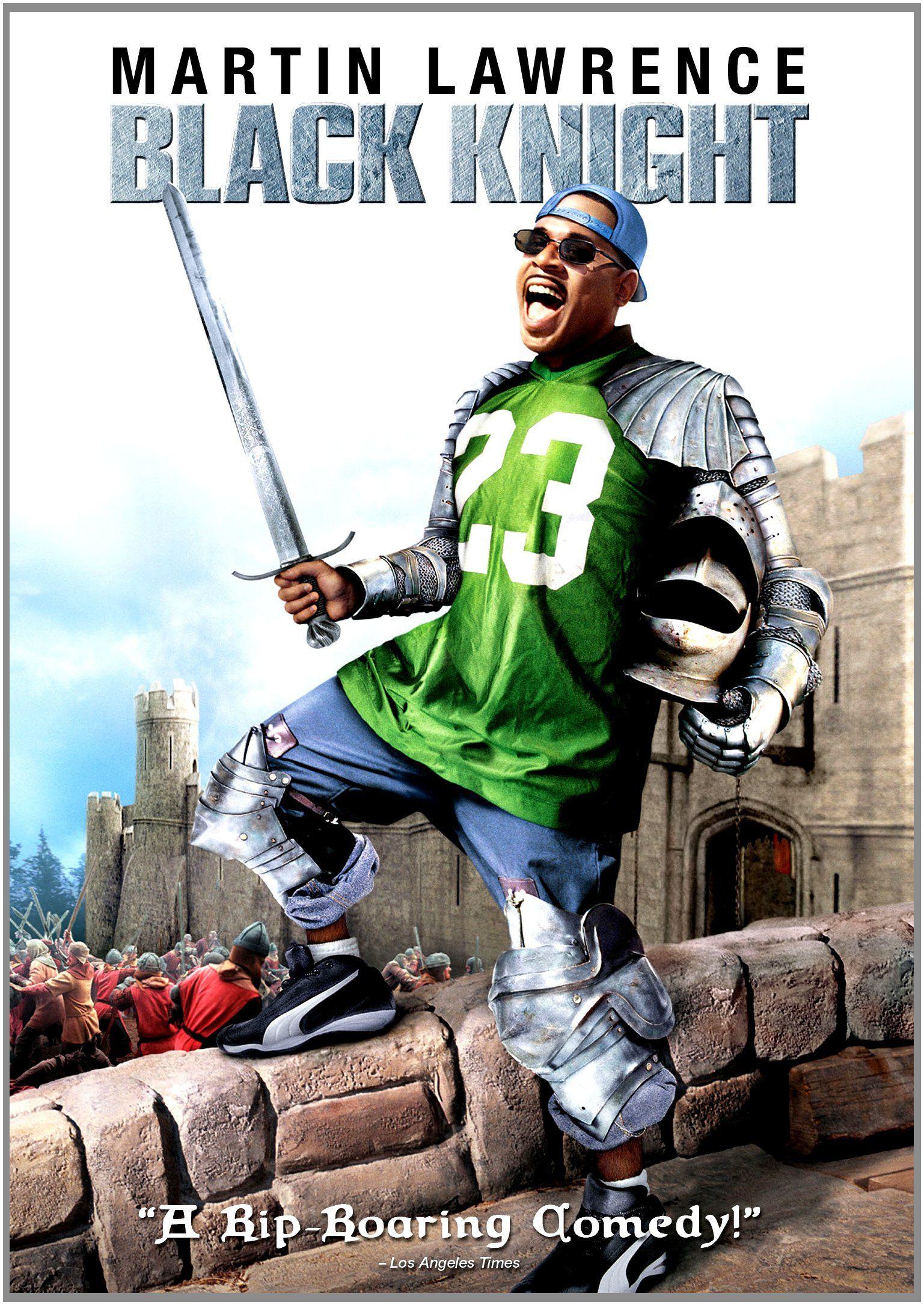 Black knight blackest knight martin lawrence funny movies