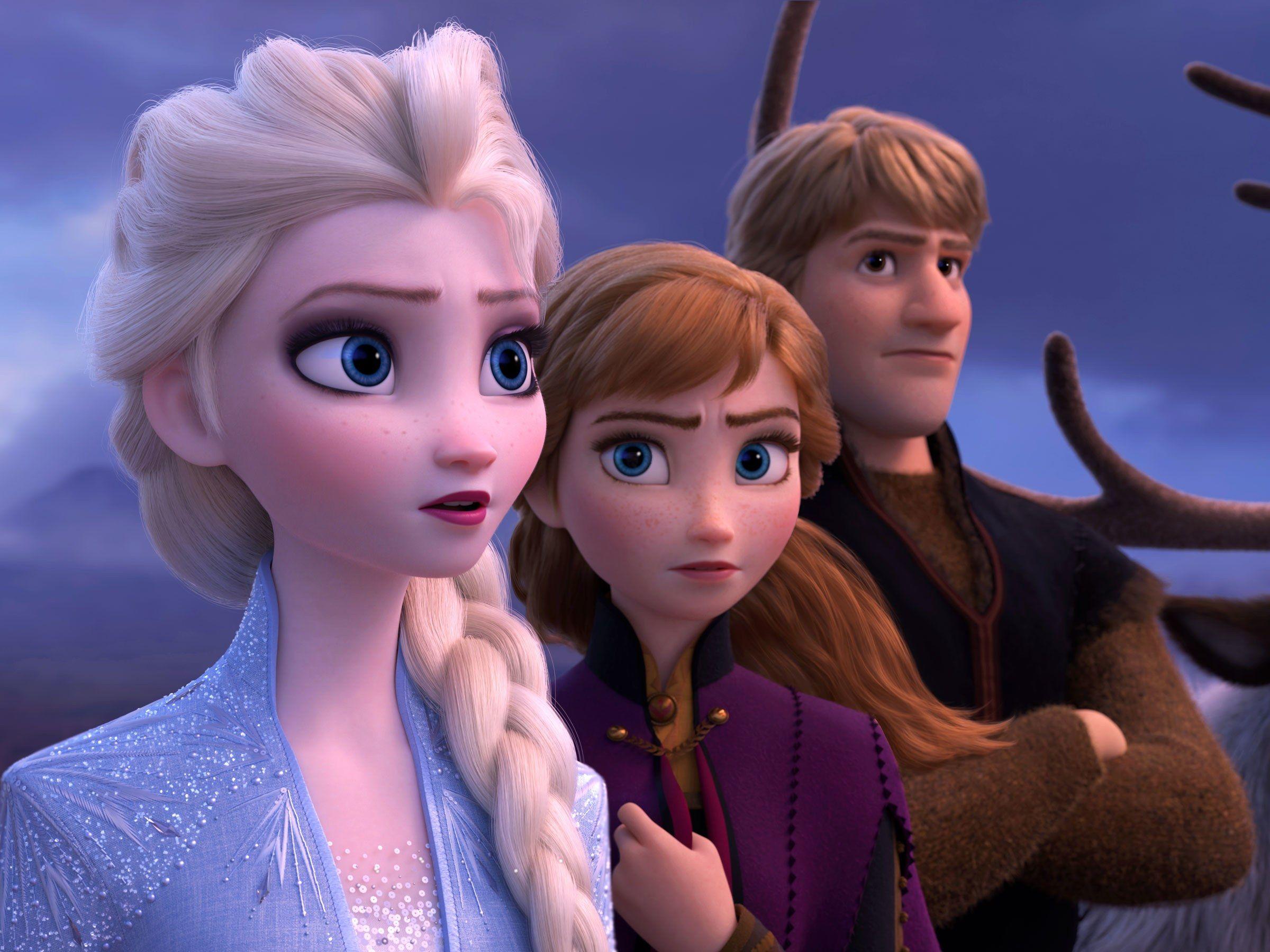 Frozen 2 Trailer Twitter Asks Where Is Elsa S Girlfriend Filme Frozen Filme Frozen 2 Frozen