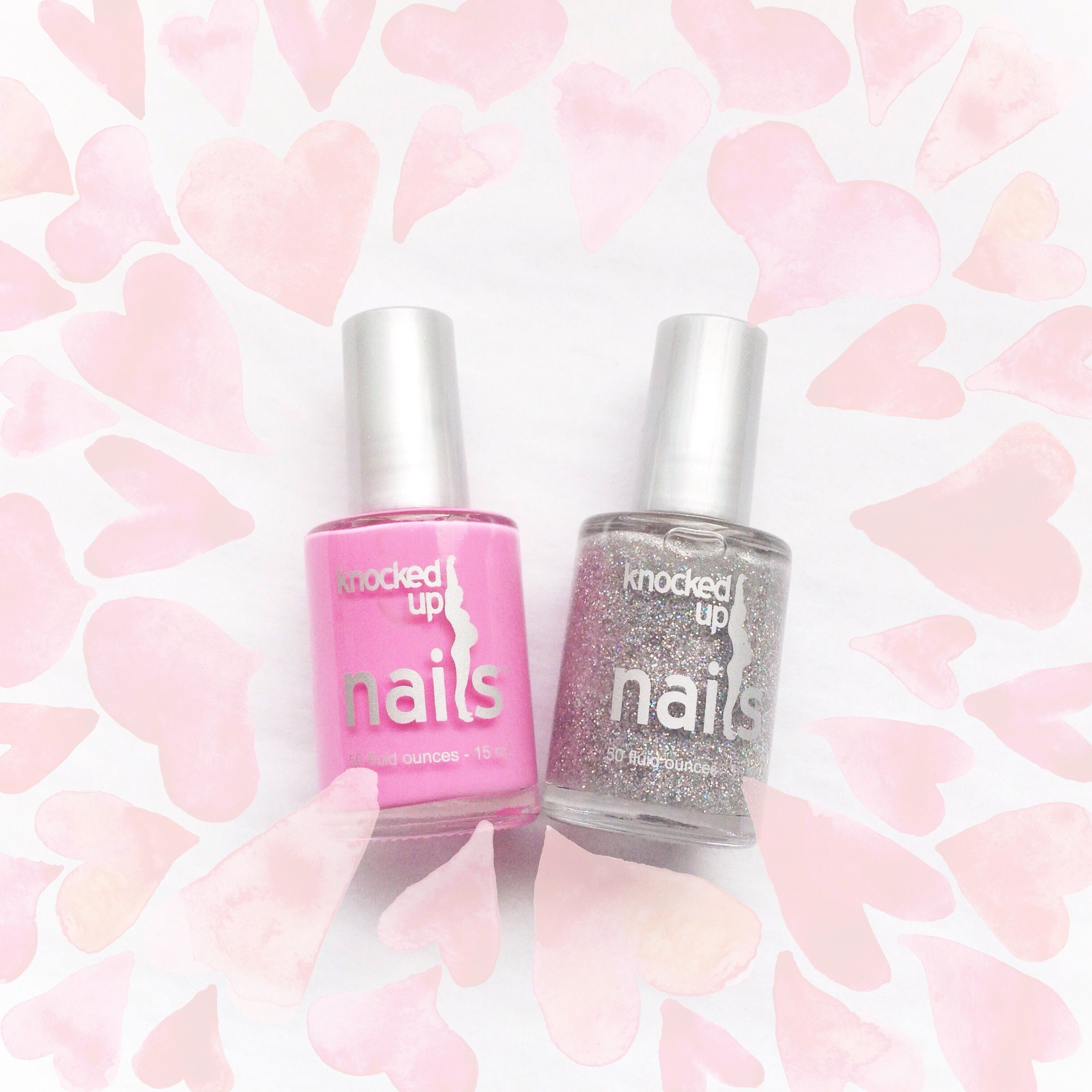 3 for Pink & Glitter Knocked Up Nails doesn\'t contain any harmful ...