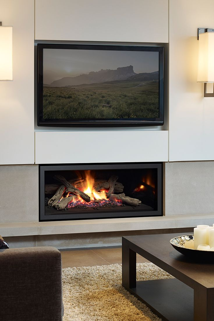 Regency U900e Contemporary Gas Fireplace Contemporary Gas