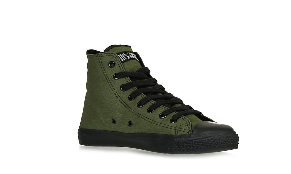7e4c3854fcd1e4 Veganer Sneaker - Ethletic Black Cap Hi Cut Camping Green. Find this Pin  and more on Vegan Shoes ...