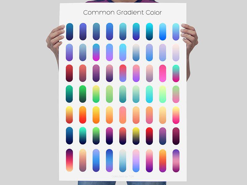 Some Common Gradient Color