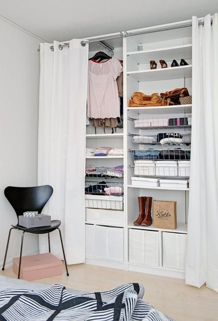 Reduce Reuse And Recycle Your Closet Making Your Community Happier Apartment Bedroom Decor Closet Bedroom Bedroom Storage